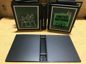 Lot of 6 New Scott United Nations Minuteman 2-Post Stamp Albums $78 Retail Value