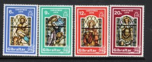 ANGUILLA 664-7 MNH VF Stained glass windows SCV $7.75 Complete set
