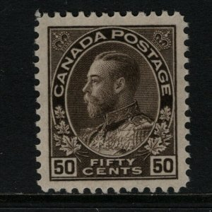 Canada #120 Extra Fine Never Hinged Gem **With Certificate**