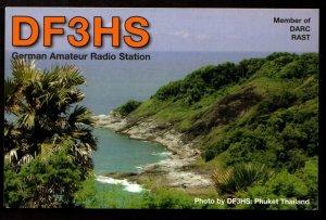 QSL Radio Card Photo by DF3HS: Phuket Thailand,Uwe Stobbe, Germany (Q3342)