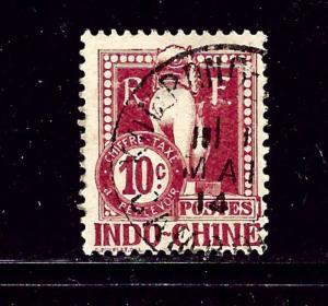 Indochina J8 Used 1908 issue