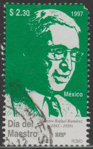 MEXICO 2034, Teachers' Day. USED. F-VF. (1393)