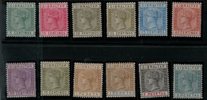Gibraltar SC 29-38 Mint 1889-1895 SCV$ 315.00 Set