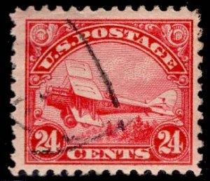 US Stamp #C6 24c Airmail USED SCV $30