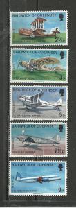 Guernsey Scott catalogue #81-85 Mint NH