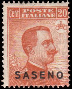 Saseno Scott 3 Unused lightly hinged.