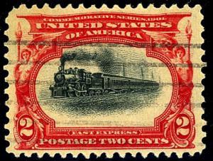 U.S. #295 Used F-VF