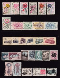 Czechoslovakia x 4 sets + odds MNH from about 1965