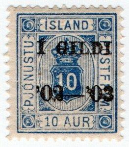 (I.B) Iceland Postal : Official 10au