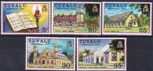 Tuvalu #38-42   MNH CV $6.50  (Z7097)