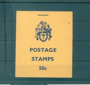 Rhodesia - Sc# 275a-80a. 1973 Complete Booklet. $15.25.