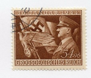 Germany 1943 Early Issue Fine Used 54pf. NW-100701