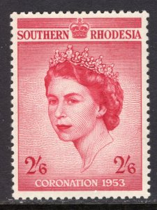 Southern Rhodesia 80 Queen Elizabeth II Coronation MNH VF