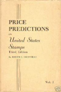 Price Predictions on US Stamps, 3rd Ed., Vol. 1, gently used.