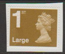 GB QE II Machin SG U2960 - 1st Large Gold  - MA11 -  No Source