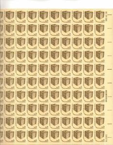 US 1584 - 3¢ Early Ballot Box Unused
