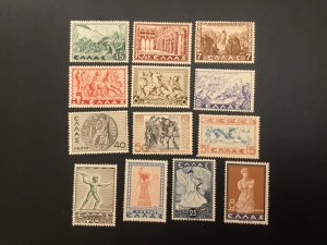 ICOLLECTZONE Greece 396-408 VF NH sports olympics