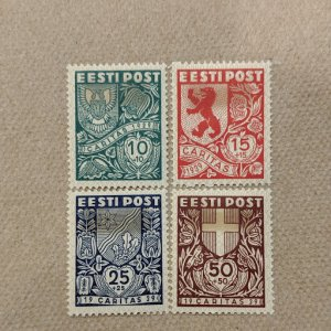 Estonia B41-4 VFMH complete set, CV $27