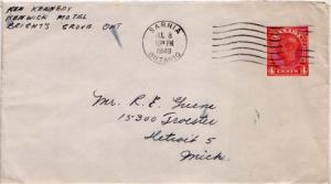 Canada, Canada Ontario, Postal Stationery