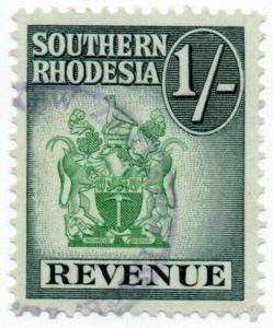 (I.B) Southern Rhodesia Revenue : Duty Stamp 1/-