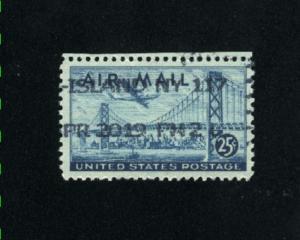 USA # C36   used 1947 PD