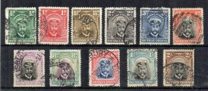 Southern Rhodesia 1924-29 values to 2s FU CDS