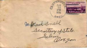 United States, 1930's Commemoratives, Oregon