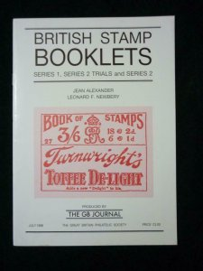 BRITISH STAMP BOOKLETS SERIES 1 SERIES 2 TRIALS & SERIES 2 by ALEXANDER &NEWBERY