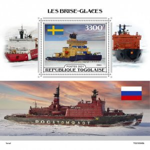 TOGO - 2021 - Ice Breakers - Perf Souv Sheet - Mint Never Hinged