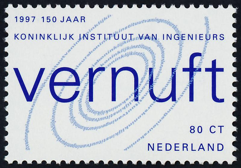 Netherlands 969 MNH Royal Institute of Engineers