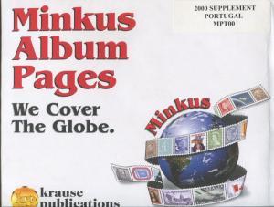 Minkus Postage Stamp Album Supplement Notes 2000 Portugal #MPT00
