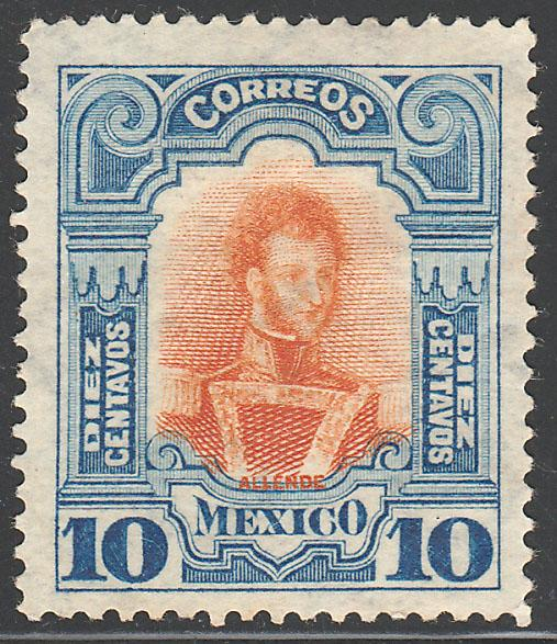 MEXICO 315 10cs INDEPENDENCE CENTENNIAL 1910 COMMEM UNUSED NG