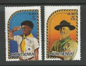 1982 Montserrat Scouts 75th anniversary