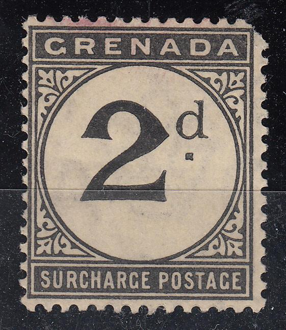 Grenada -1892 2p Postage Due stamp - MNH (5735)