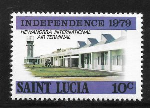 St Lucia Mint Never Hinged [4170]