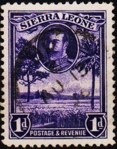 Sierra Leone. 1932 1d S.G.156 Fine Used