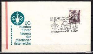 Austria, 1965 issue. 05/JUN/65. Pathfinder-Scout cancel on a Cachet cover. ^