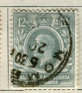 BRITISH KUT; 1912 early GV issue fine used 12c. value