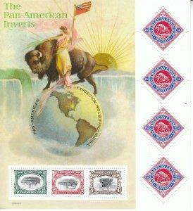 Stamp US SC 3505 Sheet 2001 Pan American Invert MNH