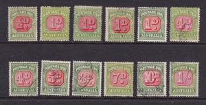 Australia a small lot of unsorted post dues