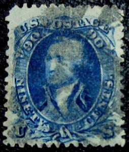 U.S. 72 Used VFXF SCV$600.00 DEEP Blue
