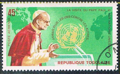 Togo C49 Used Pope Paul VI (BP11111)