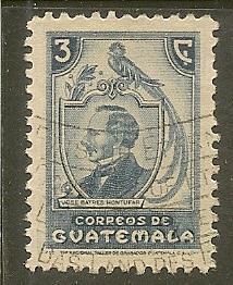 Guatemala     Scott  317     Montufar     Used