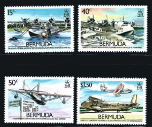 Burmuda SC#524-527 MNH VF SCV$18.75...Burmuda is Awesome!!