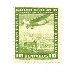 Chile 1935 - Mint - Scott #C30