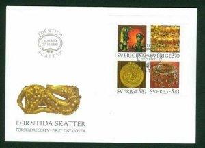 Sweden. FDC 1995 Cachet. Ancient Treasures. Engraver Martin  Morck