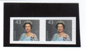 Canada #1358b Extra Fine Never Hinged Imperforate Pair
