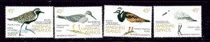 Marshall is 222-25 MNH 1989 Birds