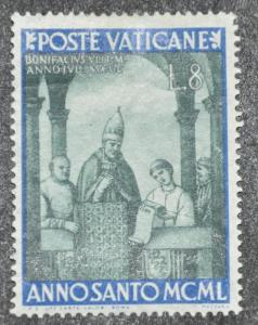 DYNAMITE Stamps: Vatican City Scott #134 – MINT hr