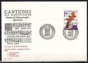 Finland, Scott cat. 665. Helsinki Orchestra issue on a First Day Cover.
